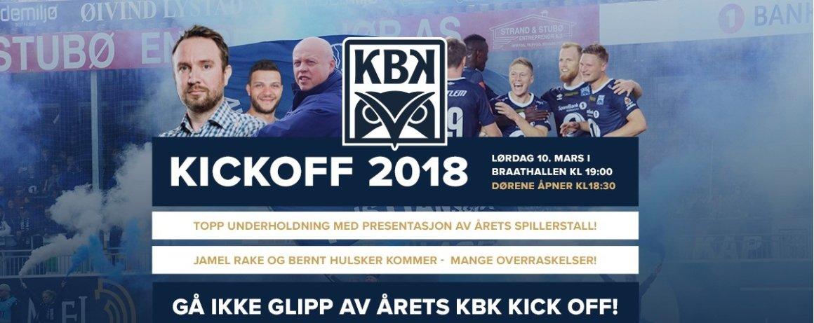 - Tidenes KBK Kickoff i Braatthallen