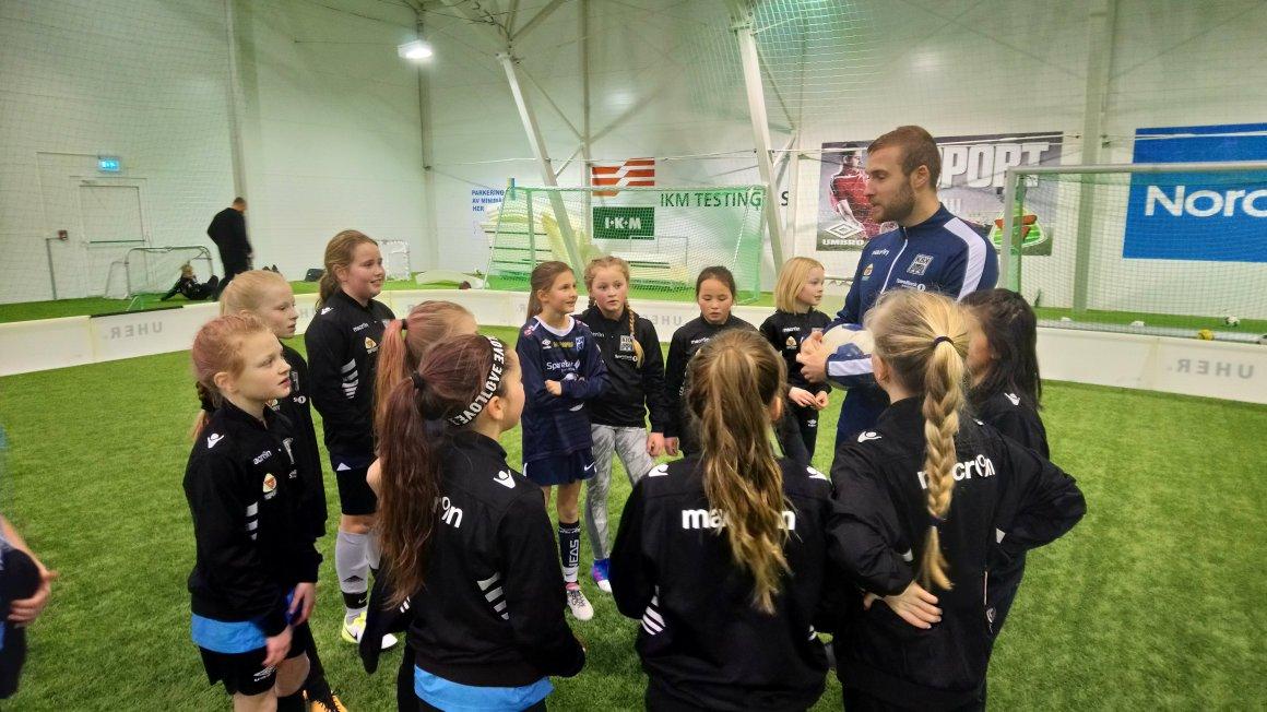 Populært med KBK fotballskole