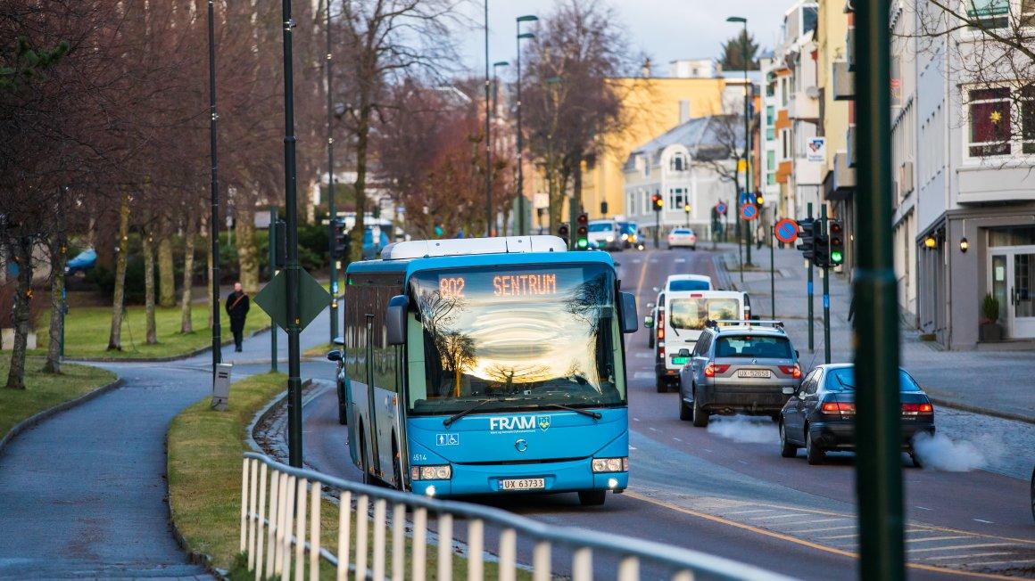 Informasjon om kollektivtransport til hjemmekamp