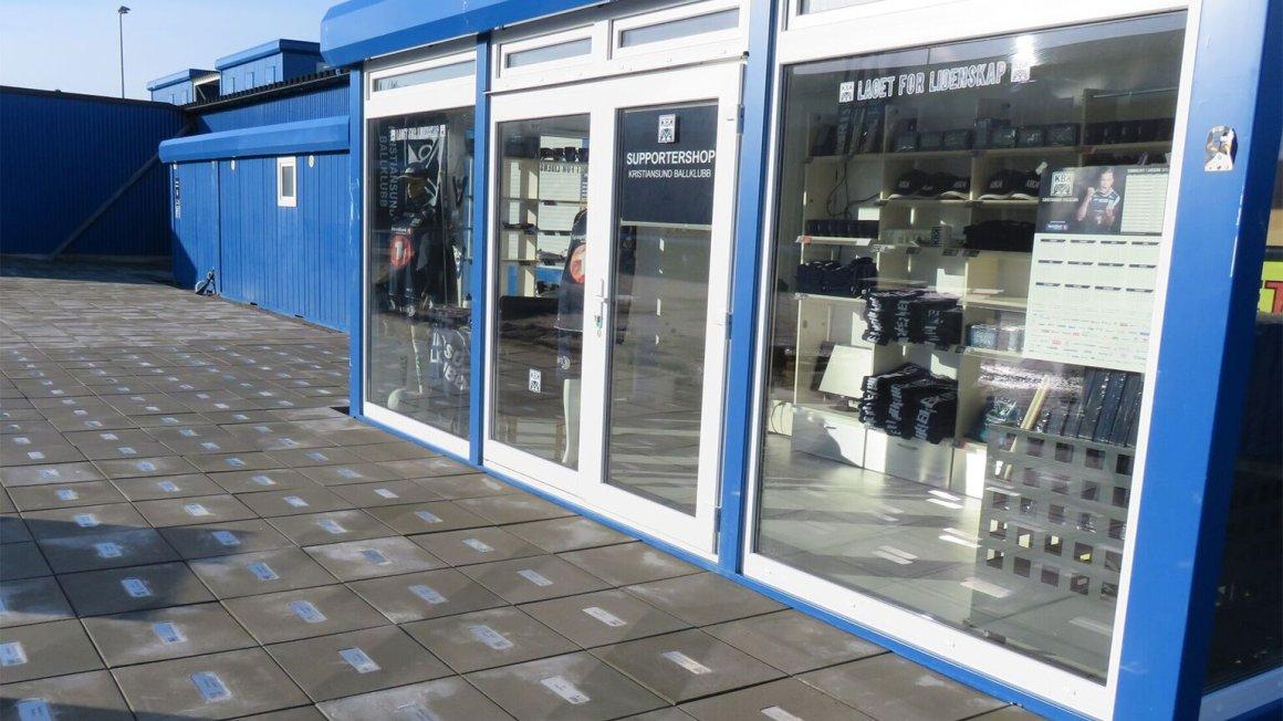 KBK-butikk på AMFI Storkaia
