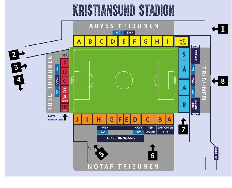 1)-tribunen vil også inneholde nye kontorlokaler, VIP, en kafé og terrasse man kan oppholde seg på før kamp