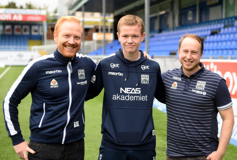 Kenneth A Leren, Max Normann Williamsen og Leo Totev.