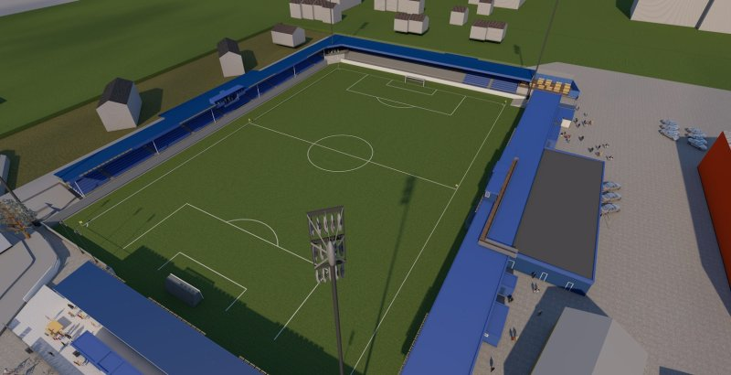 Kristiansund Stadion får ny tribune på Nordsiden