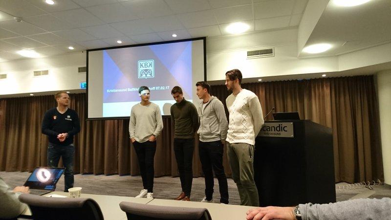 Stokke, Aasbak, McDermott og Gjesdal er klare for å spille med KBK i Eliteserien