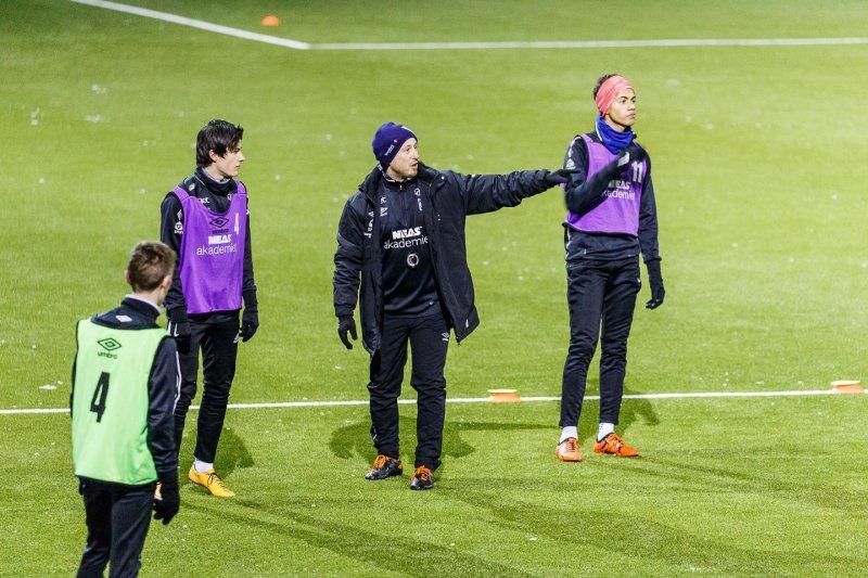 NEAS Akademiet utvikler fremtidige fotballtalenter